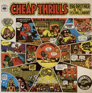 Big Brother & The Holding Company ‎- Cheap Thrills (LP) (VG/VG-)